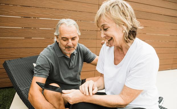 gezonde ouderen in Nederland