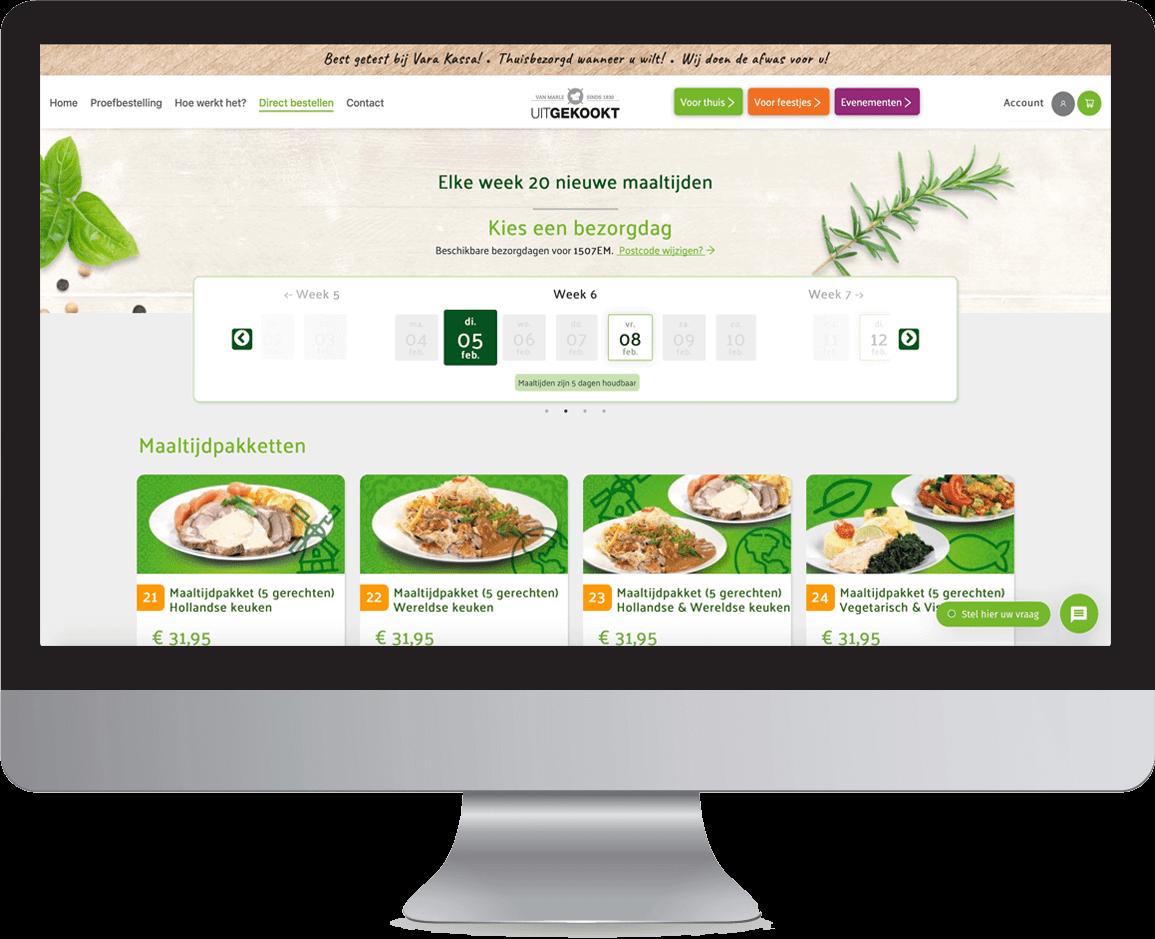 maaltijden online bestellen bij uitgekookt